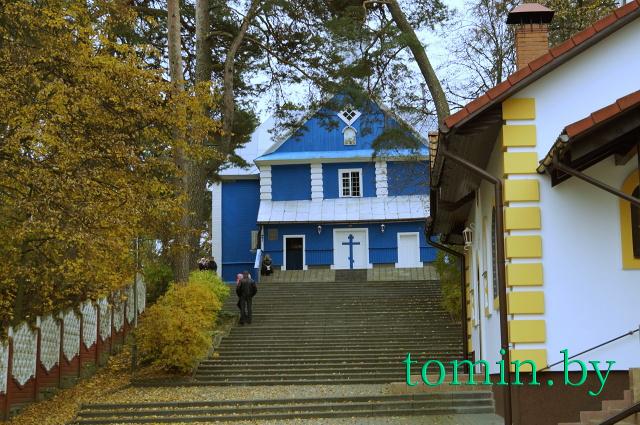 Спасо-Преображенская церковь в Хмелево Жабинковского района. Фото Тамары ТИБОРОВСКОЙ