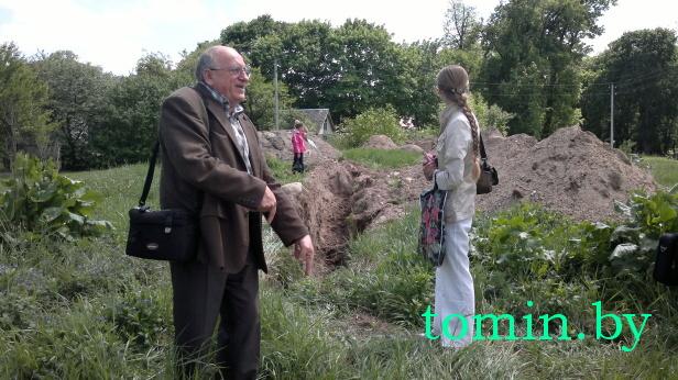 Анатолий Гладыщук: здесь мог стоять костел