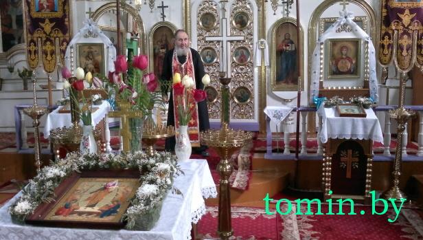 Свято-Онуфриевская церковь в д. Ставы Брестского района. Фото Тамары ТИБОРОВСКОЙ