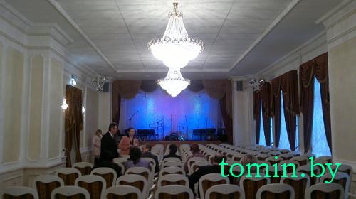 Брестская областная филармония. Фото Тамары ТИБОРОВСКОЙ
