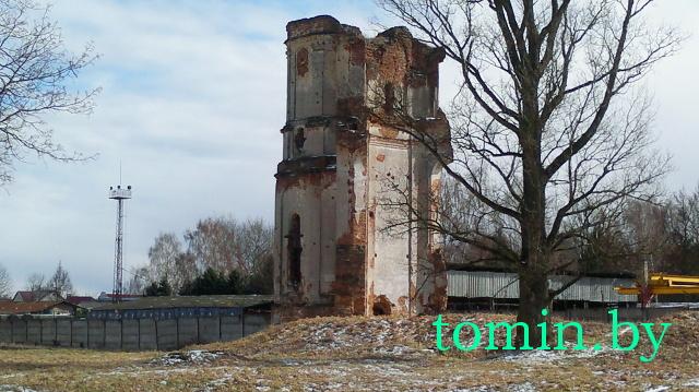 Кляштор картузианцев в Березе. Башня. Фото Тамары ТИБОРОВСКОЙ