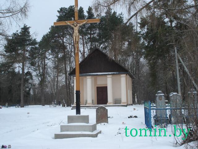 Католическое кладбище в д. Борисики - фото
