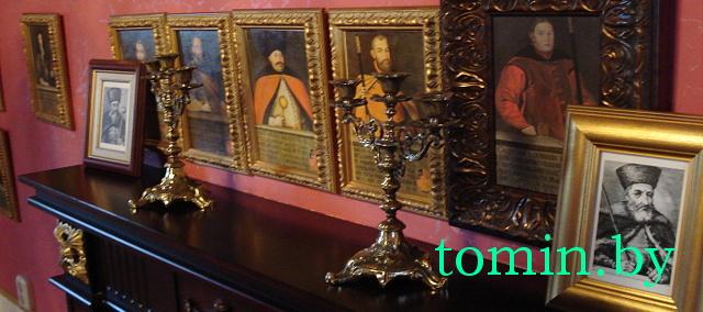 Музей «Ружанский дворцовый комплекс Сапегов». Подсвечники. Фото