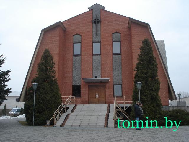 Церковь евангельских христиан-баптистов на Фортечной в Бресте - фото