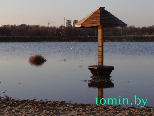 На пляже гребного канала  в Бресте  воды  чайке по колено (ФОТО)