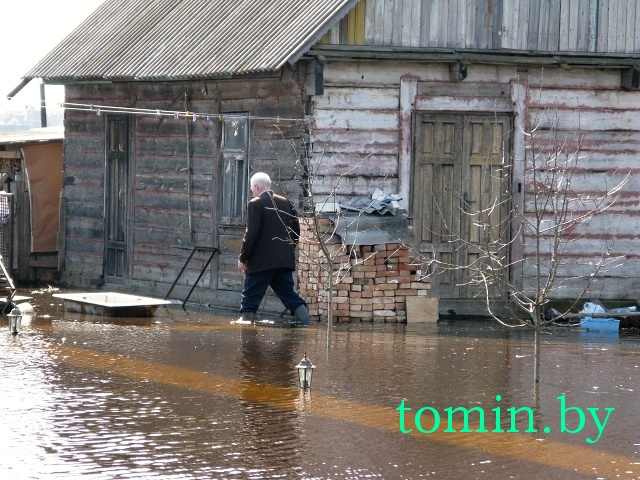 Деревня Прилуки под Брестом все еще в зоне затопления