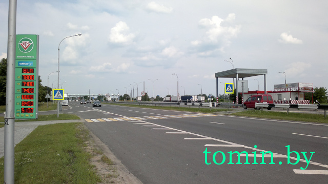 Минтранс установил тарифы на проезд по платным автодорогам Беларуси