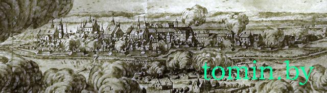Панорама Берестья, 1657 год - фото