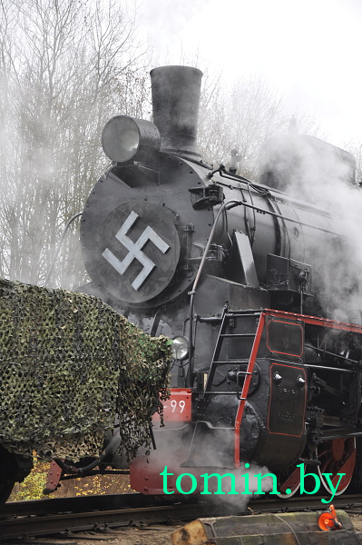 На станции Дубица под Брестом снимают жаркий июнь 1941-го