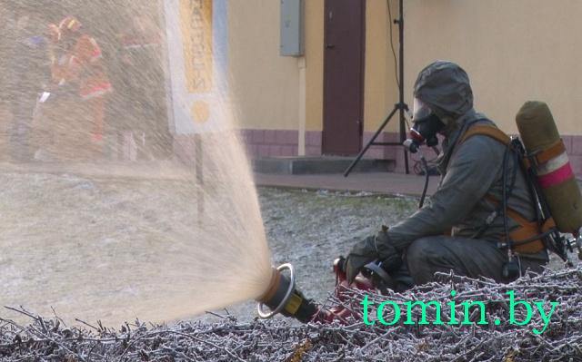 Учебная «катастрофа» в Барановичах: на железной дороге ликвидировали последствия условной аварии - фото