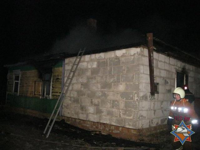 В Столинском районе в результате пожара погибли трое детей - фото