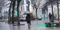 У Брэсце дождж стварыў мініпаводку на вуліцах - фота