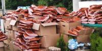 Больше тонны свинины, одежду и саженцы туй на 120 миллионов рублей изъяли таможенники у жителя Жабинки - фото