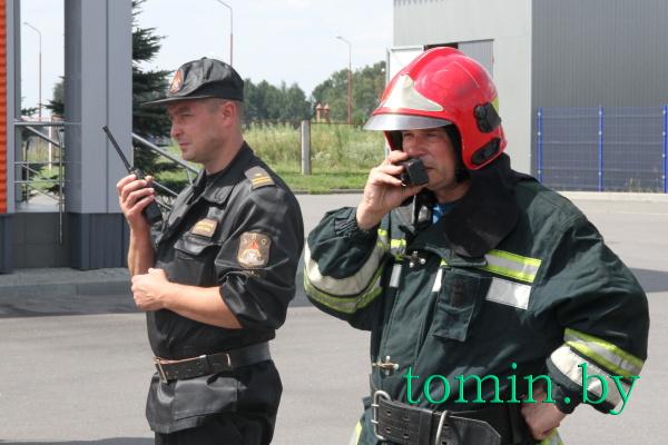 В Брестском районе прошло совместное учение белорусских и польских спасателей - фото