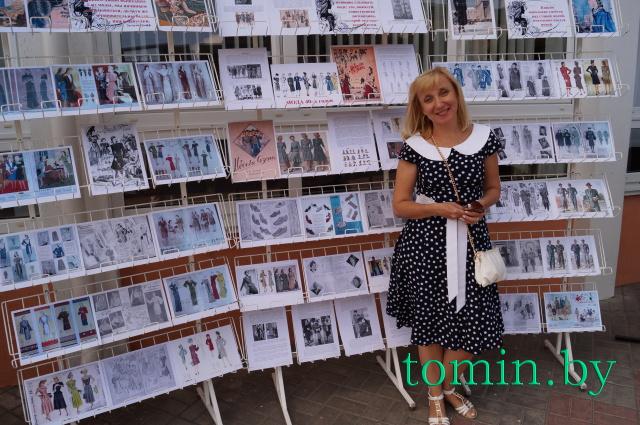 Брест: праздник книги «Читающий бульвар» прошел в городской библиотеке. Жанна Юркевич. Фото Тамары ТИБОРОВСКОЙ