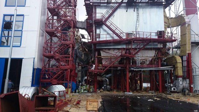 В Лунинце произошел взрыв на территории строящейся ТЭЦ: один погиб, двое пострадали - фото