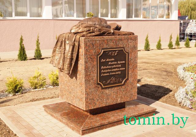 «Дожинки-2014»: в Пинске открыли памятник хлебу. Фото Тамары ТИБОРОВСКОЙ.