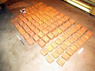 153 кг гашиша изъяли в КПП «Брузги» - фото