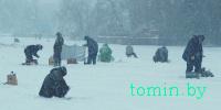 Зимняя рыбалка - фото