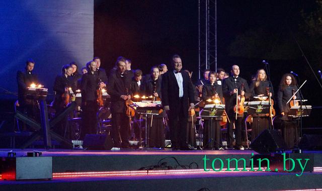 На сцене Президентский оркестр – фото Тамары ТИБОРОВСКОЙ