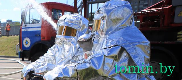 В Бресте тушили «пожар» на нефтебазе - фото