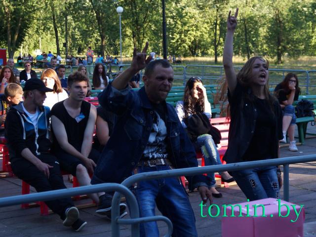 «Каменецкий драйв»-2015 - II фестиваль вокально-инструментальной музыки в Каменце. Фото Тамары ТИБОРОВСКОЙ