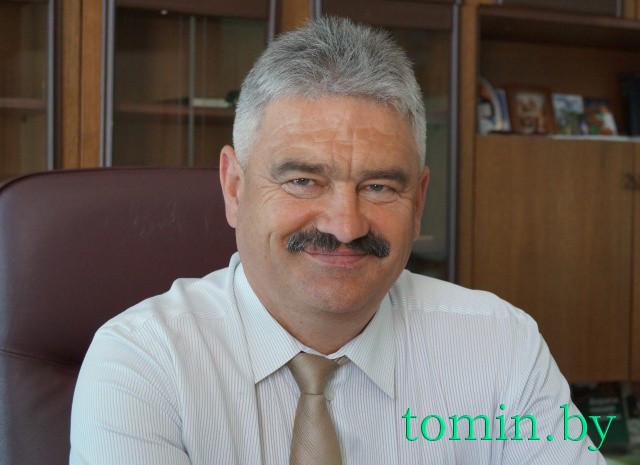 Председатель Высоковского горисполкома Николай Сачик. Фото Тамары ТИБОРОВСКОЙ