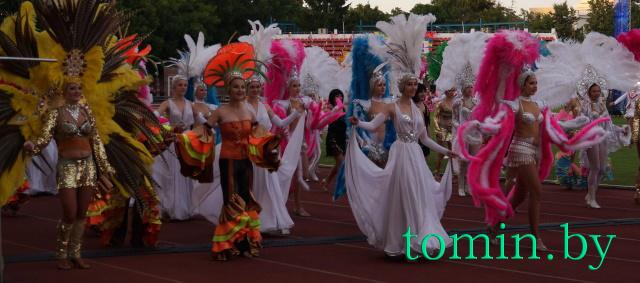 Первый Берестейский карнавал. Фото Тамары ТИБОРОВСКОЙ
