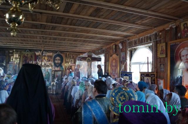 Храм в честь иконы Божьей Матери «Всецарица» в Бресте. Фото Тамары ТИБОРОВСКОЙ