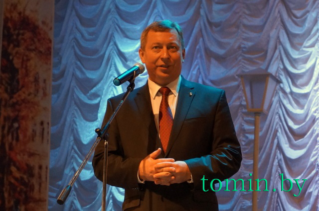 Председатель Брестского горисполкома Александр Рогачук. Фото Тамары ТИБОРОВСКОЙ
