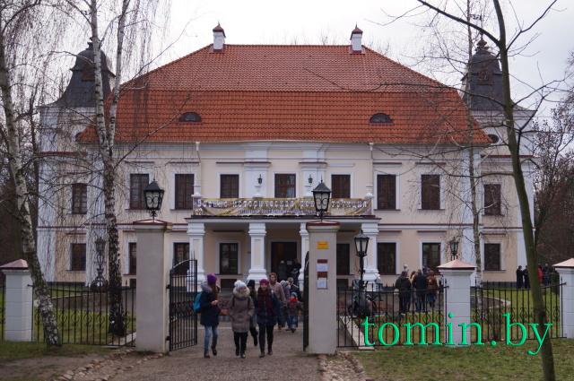 Историко-мемориальный музей «Усадьба Немцевичей» в Скоках. 12 декабря 2015 года. Фото Тамары ТИБОРОВСКОЙ.