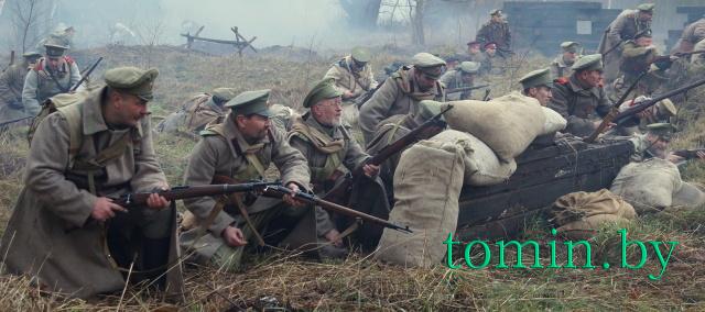 Военно-историческая реконструкция в усадьбе Немцевичей. Фото Тамары ТИБОРОВСКОЙ.