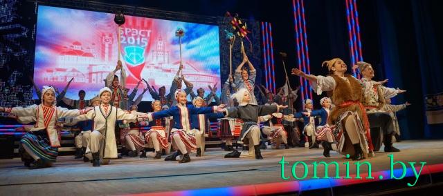 Брест передал эстафету культурной столицы Беларуси Молодечно. Гала-концерт. Фото Тамары Тиборовской