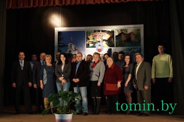 Высокое. Участники международной конференции, посвященной защите окружающей среды территории НП «Беловежская пуща». Фото Тамары ТИБОРОВСКОЙ