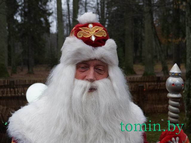 Белорусский Дед Мороз в Беловежской пуще. Фото Тамары ТИБОРОВСКОЙ.