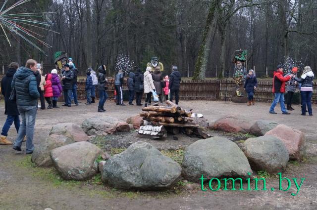 Поместье Белорусского Деда Мороза в Беловежской пуще. Фото Тамары ТИБОРОВСКОЙ.