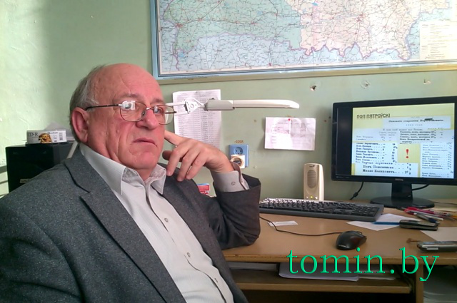 Профессор БрГТУ Анатолий Гладыщук. Фото Тамары ТИБОРОВСКОЙ