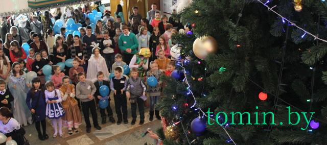"""В Бресте в рамках акция """"Наши дети"""" прошла областная благотворительная елка - фото"""
