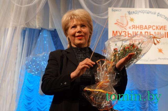 Людмила Жабинская. Фото Тамары ТИБОРОВСКОЙ