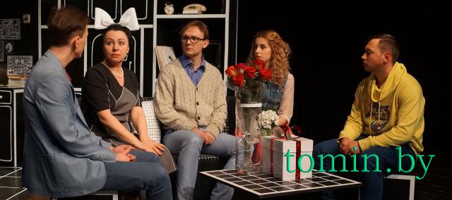 Премьера спектакля «Дорогая Елена Сергеевна» в БАТД. Фото Тамары ТИБОРОВСКОЙ