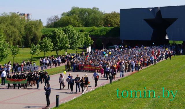 День Победы в Брестской крепости. 9 мая 2016 года. Фото Тамары ТИБОРОВСКОЙ.