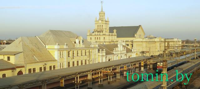 Брестский железнодорожный вокзал - фото