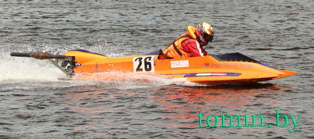 Первый этап чемпионата Беларуси по водно-моторному спорту в Бресте – фото