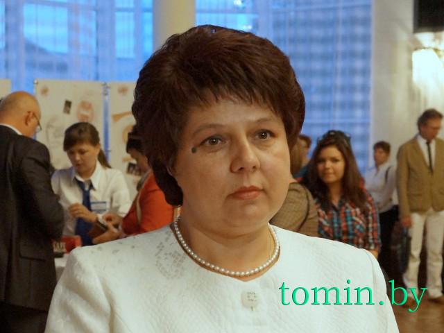 Директор Брестского филиала РУП «Белпочта» Валентина Пух. Фото Тамары ТИБОРОВСКОЙ