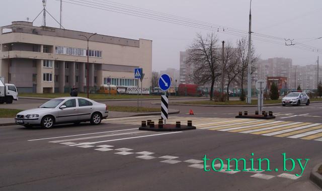 В Бресте на Гаврилова автомобиль сбил пешехода. Фото Тамары ТИБОРОВСКОЙ