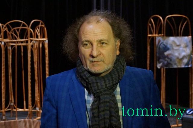 Основатель и художественный руководитель Костромского камерного драмтеатра Борис Голодницкий. Фото Тамары ТИБОРОВСКОЙ