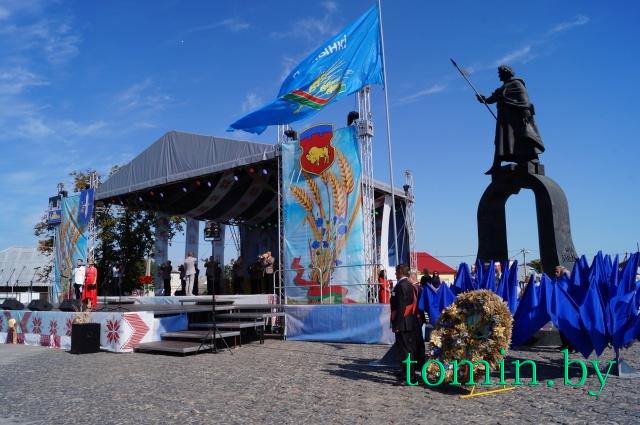«Дожинки-2017» в Давид-Городке Столинского района. Фото Тамары ТИБОРОВСКОЙ