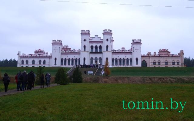 Дворец Пусловских в Коссово, 10 ноября 2017 года. Фото Тамары ТИБОРОВСКОЙ