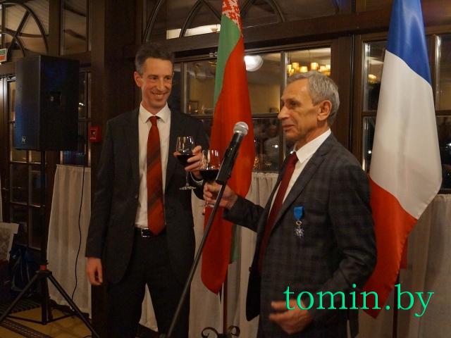Дидье Канасс (слева) и Леонид Стаецкий. Фото Тамары ТИБОРОВСКОЙ