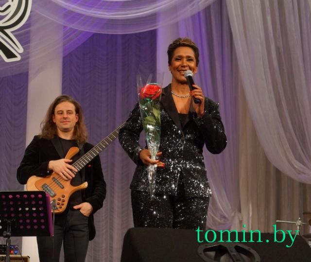 Британская певица Лориан Браун. Фото Тамары ТИБОРОВСКОЙ